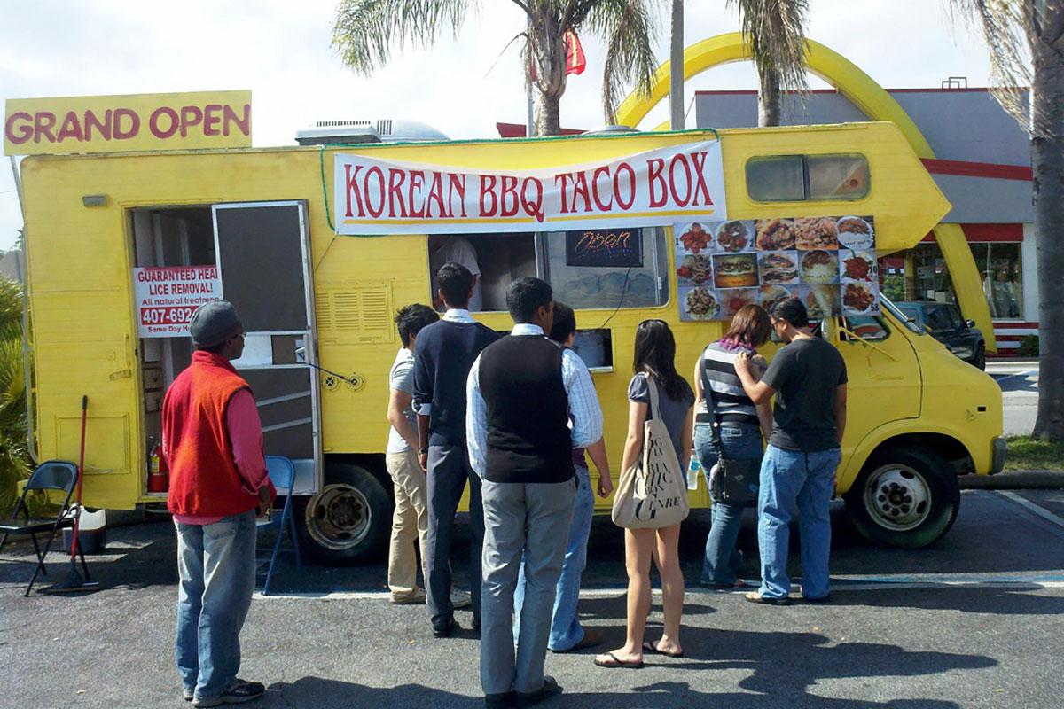 Korean BBQ Taco Box in Orlando Florida