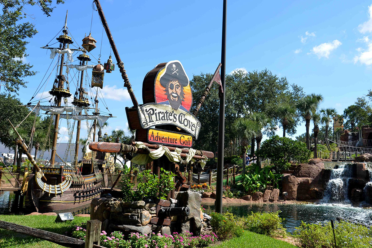 Pirate's Cove Adventure Golf in Florida